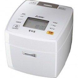 Mitsubishi Electric IH rice cookers Bincho Sumisumi †Š˜ 5.5 Go cook Pure White NJ-VE106-W