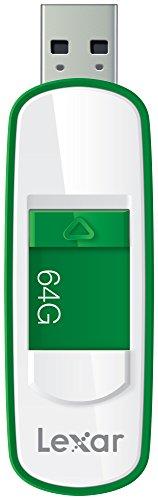 Lexar JumpDrive S75 64GB USB 3.0 Flash Drive - LJDS75-64GABNL (Green)