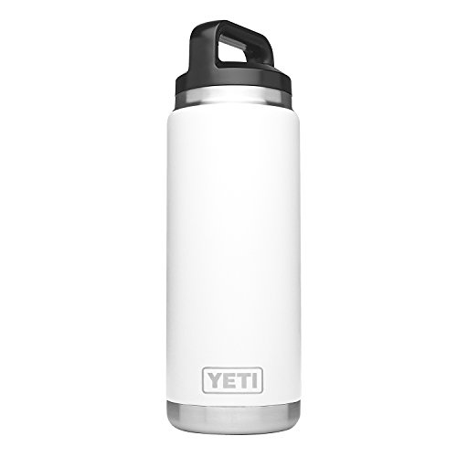 YETI Rambler 26oz Bottle, White