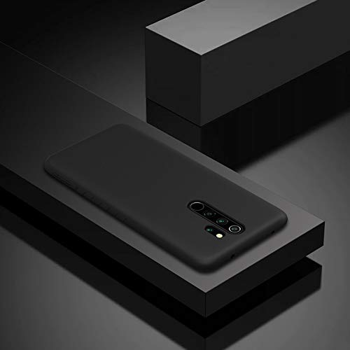 Nillkin Rubber Wrapped Protective Cover Case for Xiaomi Redmi Note 8 Pro (Black) 5