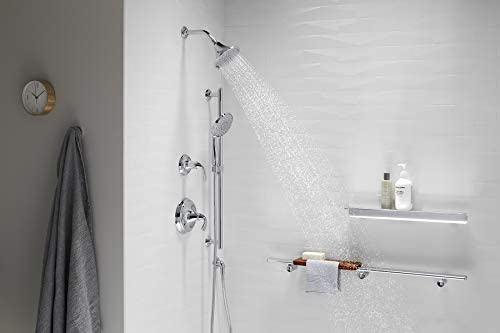 Kohler K-22169-G-CP Forte 1.75 GPM Multifunction Showerhead with Katalyst Air-Induction Technology, Polished Chrome 18