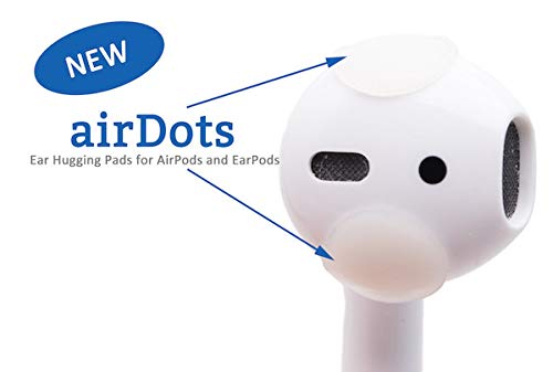 AirSquares AirPods Accessory for Easy Ear Wax Removal and Cleaning (24-Pack). Compatible w/Apple AirPods/Earphones/Earbuds/Ear Hooks/iPhone Cases. Get Better Look, Sound and Pairing. Patent Pending
