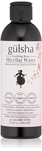 Based on exclusive formula with gentle micellar technology and ultimate rosewater, the no-rinse formula removes makeup, cleanses and softens skin in a single step Enriched with rosewater for a soothing effect, instantly traps impurities and all traces of makeup without disturbing the natural skin moisture It takes approximately 4000 kilograms of roses, hand-picked before the sunrise, to produce just one kilo of pure rose oil in an incredibly labor-intensive process; A limited number of bottles is produced each year.