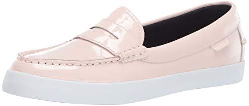 Cole Haan Women's Nantucket Loafer II Flat, Pink Dogwood Patent 7.5 B US
