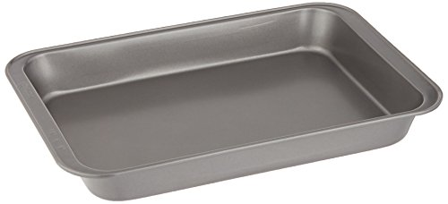 Ecolution-Bakeins-Cake-Pan--PFOA-BPA-and-PTFE-Free-Non-Stick-Coating--Heavy-Duty-Carbon-Steel--Dishwasher-Safe--Gray--13-x-9-x-1875