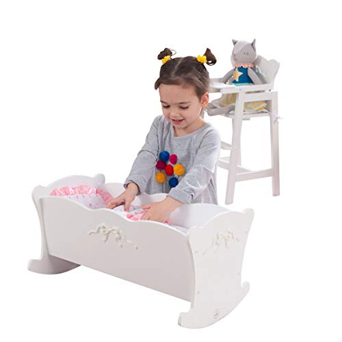 KidKraft Tiffany Bow Lil Doll Cradle