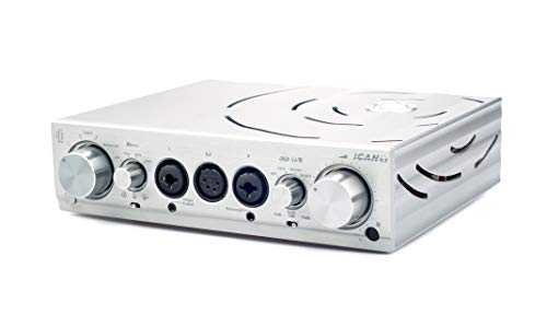iFi Pro iCAN Professional Studio Grade Fully Balanced Headphone Amplifier and Line Level Preamp with Tube and Solid State Output Circuits