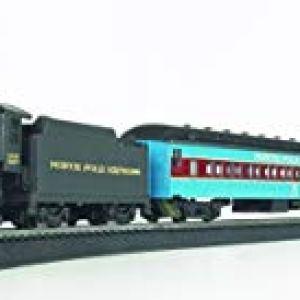 Bachmann Trains – North Pole Express Ready To Run Electric Train Set – HO Scale 31UCvT1q DL