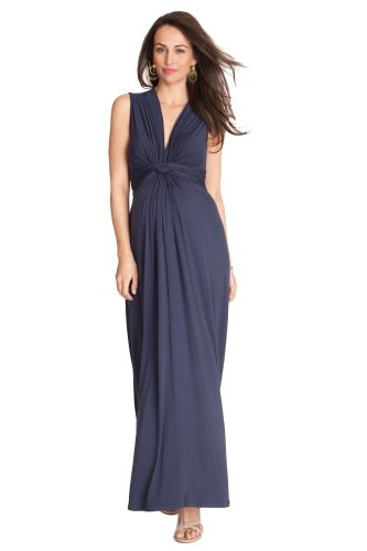 625a6dddea202 Seraphine Jo Knot Front Maternity And Nursing Maxi Dress - Only Maternity