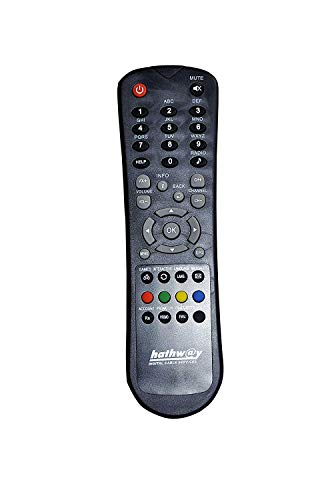 SAE HATHWAY Remote for Set TOP Box (Black) 125