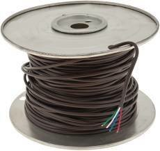 Coleman Cable 552040407 Thermostat Wire, 20 Gauge, 4 Wire & 250′ Vinyl Jacket