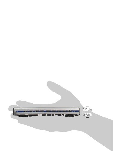 Kato-USA-Model-Train-Products-Amfleet-and-Viewliner-Intercity-Express-Phase-VI-Bookcase-Set-3-Unit-Set