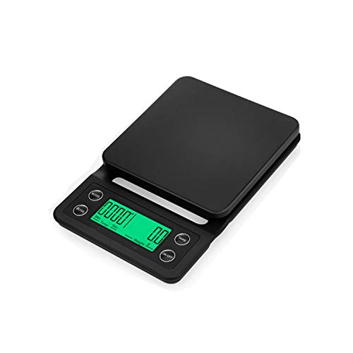 Electronic Digital Scale Kitchen Scale Weigh Scales Nutrition Scale 5Kg/0.1G,Black