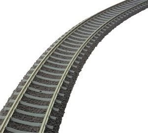Fleischmann 6109 800mm Ballasted Track (Concrete Sleeper) 31V2qx 2Bb4uL