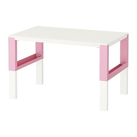 Pahl Ikea Scrivania Per Bambini Dimensioni 96 X 58 Cm Rosa