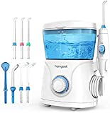 Homgeek Upgrade Water Flosser,Oral Irrigator,Water Pick,Dental Water Flosser,Anti Leakage Water Pick Teeth Cleaner Dental Water Toothpick 10 Adjustable Pressure with 7 Multifunctional Tips-FDA Listed