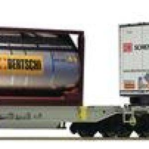 Fleischmann 825004 AAE T2000 Articulated Double Pocket Wagon VI 31VBdykqNEL