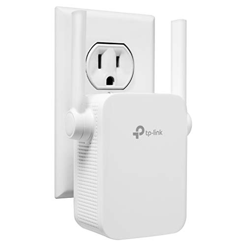 TP-Link | N300 Wifi Extender | Up to 300Mbps | Range Extender, Repeater, Wifi Signal Booster, Access Point | Easy Set-Up | External Antennas & Compact Designed Internet Booster (TL-WA855RE)