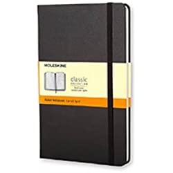 Moleskine Classic Notebook, Pocket, Ruled, Black, Hard Cover (3.5 x 5.5)