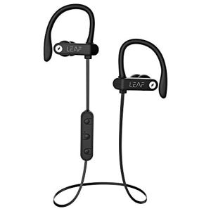 Leaf Sport 2 Wireless Bluetooth Earphone with Mic and Sports Earhook, Bluetooth Headset with 6 Hours Battery Life and Deep Bass(Carbon Black) 11
