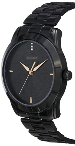 Sonata analog black dial men's watch nm7924nm01 / nl7924nl01 | latest news live | find the all top headlines, breaking news for free online april 5, 2021