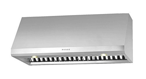 Ancona Pro UC LED Under-Cabinet Range Hood, 36-Inch, Stainless Steel