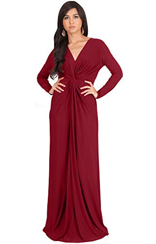 61SAENg9XHL PLUS SIZE - This amazing maxi dress is a great plus size maxi dress and can be worn to various occasions STYLE - Comfortable and well-fitted long sleeved maxi dresses that can be dressed up or down to suit your mood OCCASION - Perfect casual maxi dresses with sleeves or understated chic long sleeved gowns