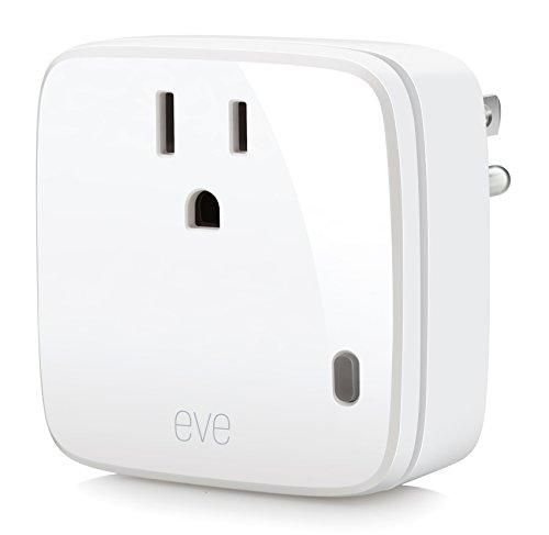 Elgato Eve Energy - Wireless Switch & Power Meter with Apple HomeKit technology, Bluetooth Low Energy