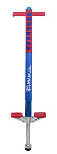 Flybar Foam Maverick Pogo Stick for Kids Ages 5+, Weights 40 to 80 Pounds