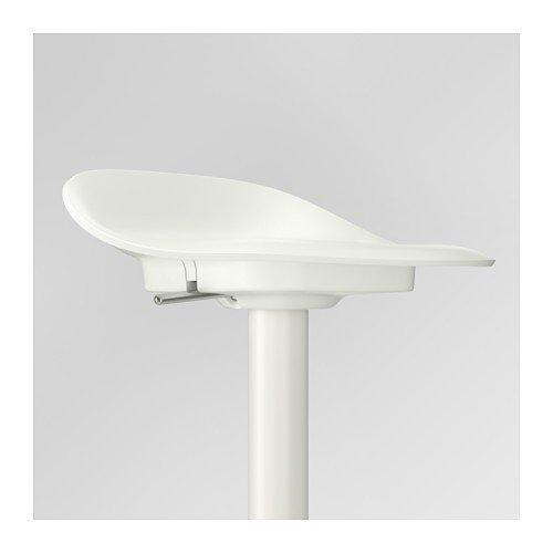 Ikea Janinge De 2 Tabourets De Bar 76 Cm Blanc Amazonfr