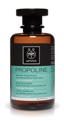 Apivita Propoline Balancing Shampoo for Hair with Oily Roots and Dry Ends