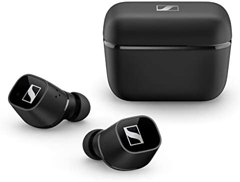 Sennheiser CX 400BT True Wireless Earbuds – Bluetooth in-Ear Headphones for Music and Calls – Noise Cancellation, Long-Lasting Battery Life and Customisable Touch Controls, Black