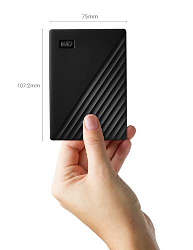 HP 15 Intel Core i5 Full HD Laptop + WD 2TB My Passport Portable External Hard Drive, Black 8