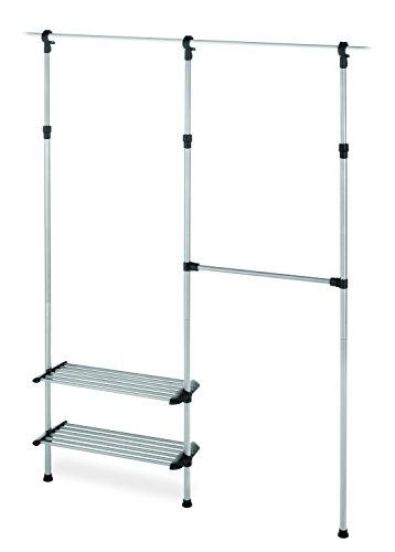Whitmor 2 Shelf 2 Rod Closet System - Adjustable Closet Maximizer