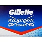 100 X Wilkinson Sword Double Edge Safety Razor Blades