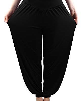 Loose fit yoga pants