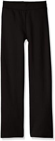 Hanes ComfortSoft EcoSmart Girls' Open Bottom Leg Sweatpants 1