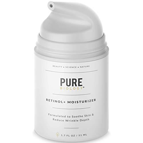 Premium Retinol Cream Face Moisturizer with Retinol, Hyaluronic Acid, Vitamin B5, C & E, Argan Oil & Breakthrough Anti Aging, Anti Wrinkle Complexes – Face & Eye Skin Care for Men & Women