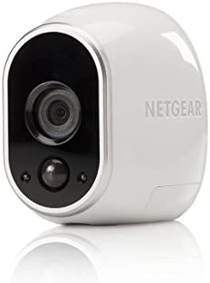 Arlo – Add-on Camera | Night Vision, Indoor/Outdoor, HD Video, Wall Mount | Cloud Storage Included | Works with Arlo Base Station (VMC3030-100NAR) – (Renewed)