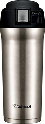 Zojirushi SM-YAE48XA Travel Mug, 16 oz, Stainless Steel
