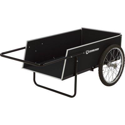 Strongway Garden Cart - 300-lb. Capacity, 7 Cu. Ft. 41in.L x 23in.W