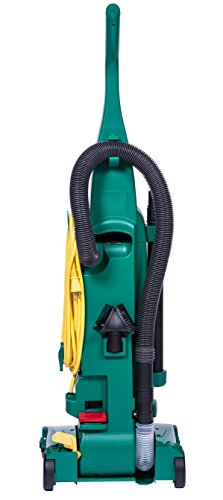 Bissell-BigGreen-BGU1937T-135-Pro-Cup-Bagless-Upright-Vacuum-with-On-Board-Tools-44-Height-135-Wide-132-Length-Polypropylene-2-fl-oz-Capacity-Green