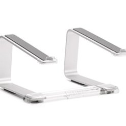 31YqnLZImDL - Griffin Elevator Computer Laptop Stand - Silver/Clear