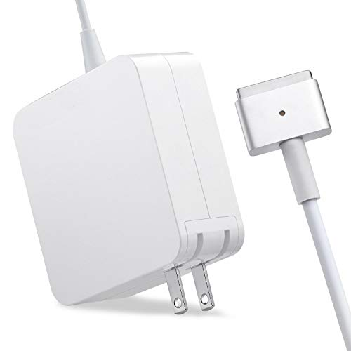 Mac Book Pro Charger, AC 60W Magsafe2 T-Tip Power Adapter Charger Replacement for MacBook Pro 13.3' Retail Package A1425 A1435 A1465 A1502 (Made After Late 2012) 5 A1502 (Made After Late 2012)