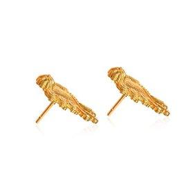 Senco-Gold-22k-916-Yellow-Gold-Stud-Earrings-for-Women