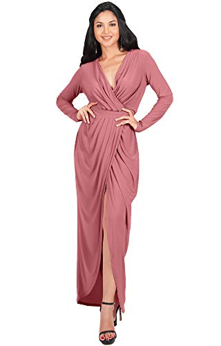 PLUS SIZE - This stunning maxi dress is also available in plus size STYLE - Elegant long sleeve maxi dresses for special occasions OCCASIONS - Perfect gowns or maxi dresses with long sleeves for all occasions