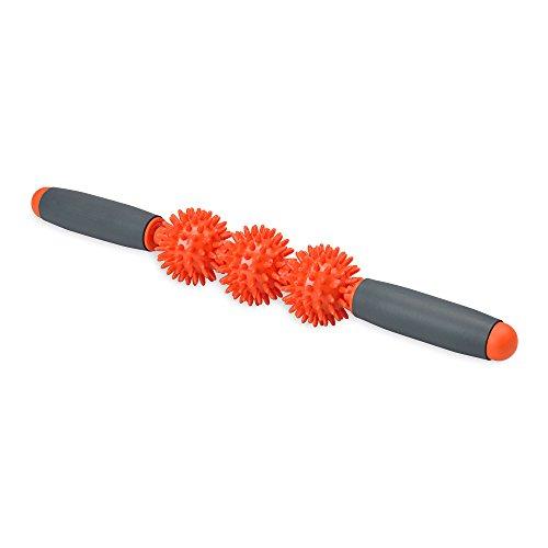 Gaiam Restore Massage Stick Pressure Point Muscle Massage Roller