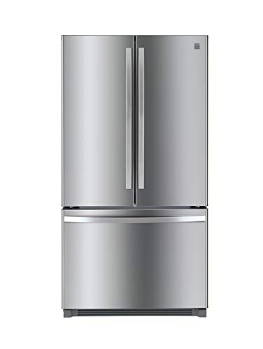 Kenmore 4673025 26.1 cu. ft. Non-Dispense French Door Refrigerator in Stainless Steel with Active Finish, includes delivery and hookup (Available in select cities only)