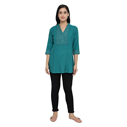 Indietoga women's cotton linen tunic shirt tops (small to plus sizes 7xl) | latest news live | find the all top headlines, breaking news for free online april 8, 2021