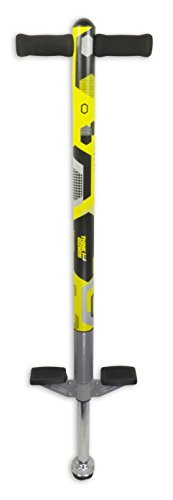 Pogo Stick For Kids - For Kids 5,6,7,8,9,10 Years Old & Up To 90lbs (36kgs) - Awesome Fun Quality Pogo Stick For Boys & Girls By ThinkGizmos (Yellow & Black)